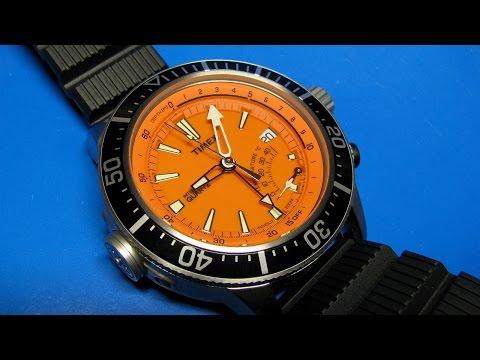 Timex T2N812DH  Intelligent Quartz Adventure Series Depth Gauge Watch