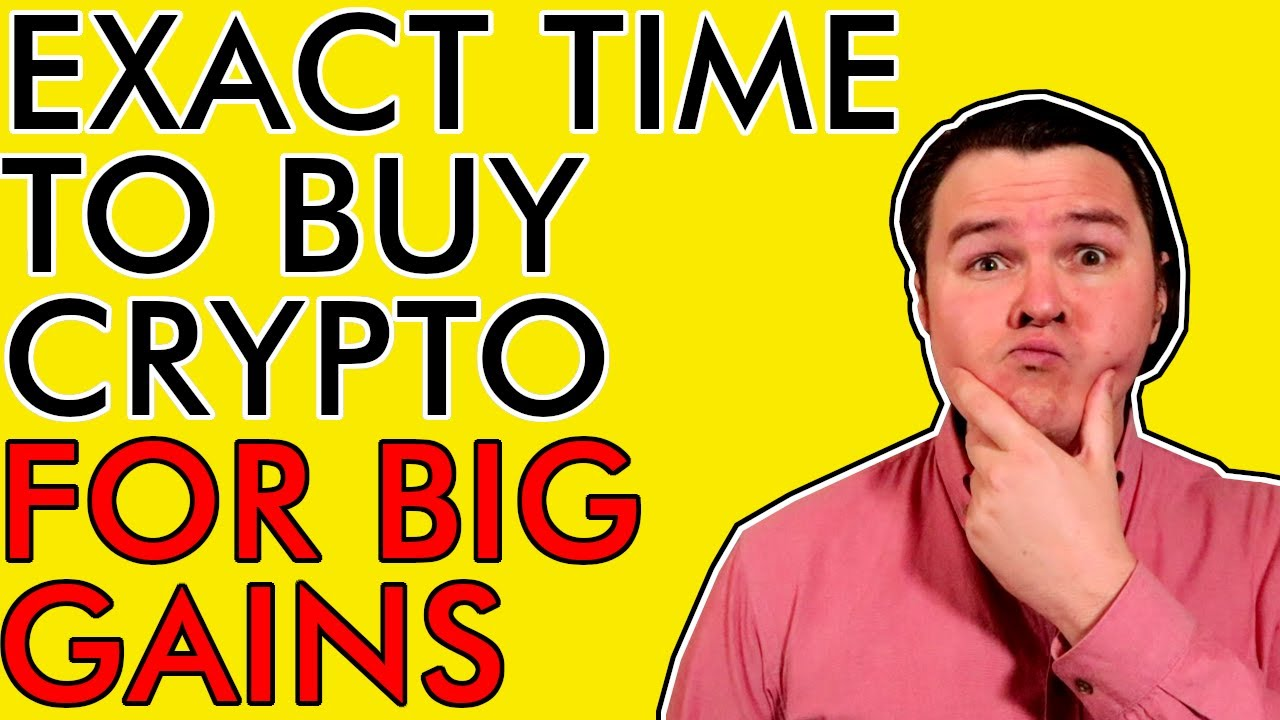 WHEN EXACTLY TO BUY BITCOIN & CRYPTOCURRENCY FOR SICK GAINS EXPLAINED #crypto #beginner