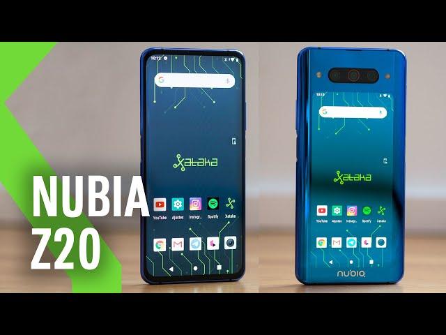 """Nubia Z20, análisis: DOS PANTALLAS para uno de los móviles más """"RAROS"""" del año"""