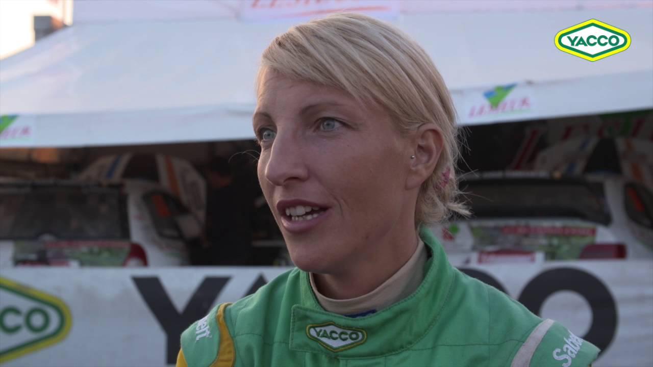 Rallycross 2016 - Jessica Tarrière-Anne - Portrait