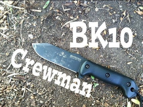 BK-10 Crewman Survival Knife Review: Tactically Survive