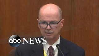 Toxicologist testifies on drug levels in George Floyd's system compared to DUI cases