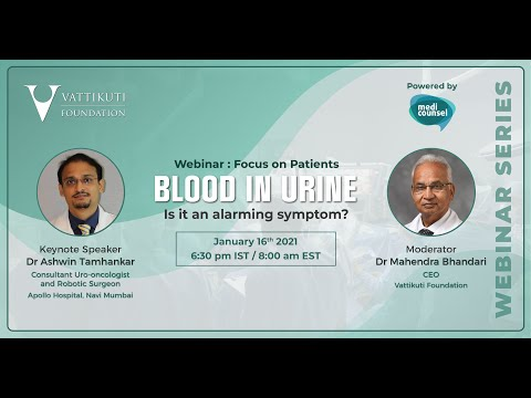 VF Patient Webinar: Blood in Urine Answers