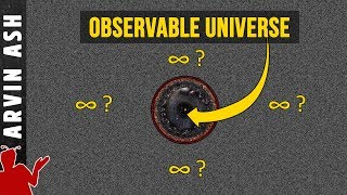 Visualizing infinity. Is the universe infinite? the largest scales