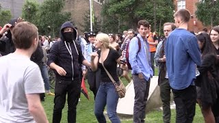 """Lauren Southern ATTACKED by """"anti-fascist"""" thugs in London!"""