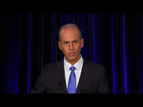 Six months to the day since the first of two deadly crashes involving Boeing's 737 Max airliner, Chairman and CEO Dennis Muilenburg declined to take more than partial blame for the accidents. (April 29)