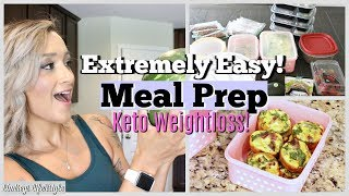 EXTREMELY EASY MEAL PREP | KETO/ LOW CARB | FAMILY APPROVED