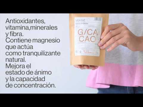 Granos de Cacao crudo | Superalimentos VEKINE