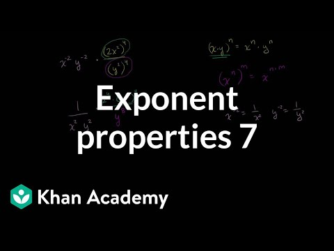 A thumbnail for: Exponents, radicals and scientific notation