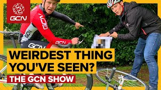 The Weirdest Thing That You've Seen On A Bike Ride? | GCN Show Ep. 337