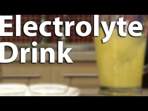 How-to make a Homemade Electrolyte Drink