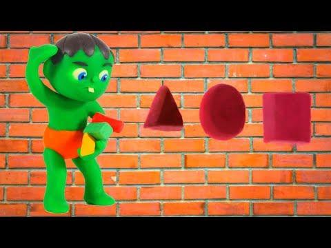 Download Video SUPERHERO BABY MATCHES SHAPES ❤ Superhero Babies