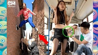 Best FUNNY Videos 2018 People Doing Stupid Things  Compilation,.Cah Mending EP 1