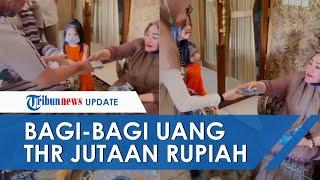 Kisah di Balik Video Viral Nenek Bagi-bagi Uang THR Jutaan Rupiah, Sempat Dikira Settingan
