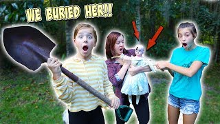 WE BURIED HER IN OUR BACKYARD!! DOLL MAKER [EP. 4]