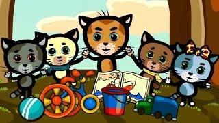Чтобы быть веселым - теремок тв: песенки для детей (songs for kids) - Три котенка