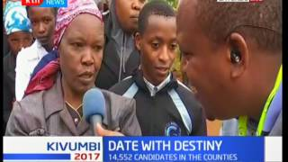 Uhuru Kenyatta set to cast his vote in Mutomo Primary in Gatundu