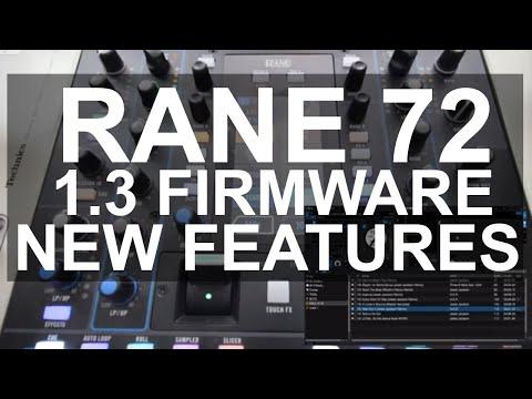 Rane 72 SEVENTY TWO Beta Firmware v1 3 1 107 with Serato DJ