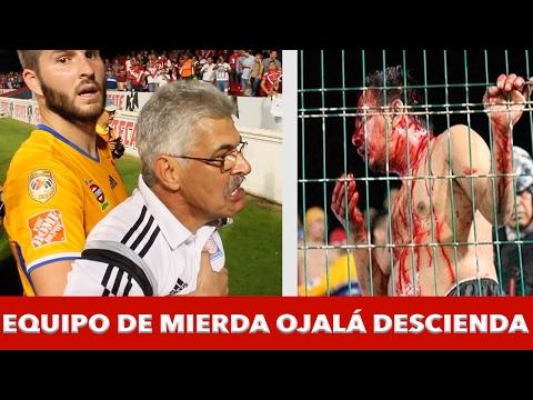 Bronca Veracruz vs Tigres Gignac Ferreti