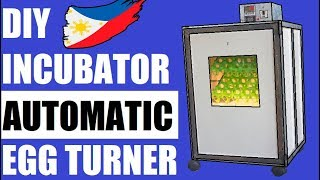 DIY Egg Incubator With Automatic Turner DIY