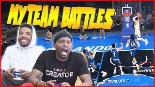MyTeam Battles RETURN! And You Won't Believe THIS! - NBA2K19 MyTeam Battles Ep.1