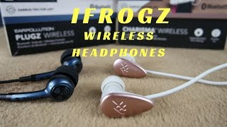 iFrogz Plugz & charisma Bluetooth Headphones