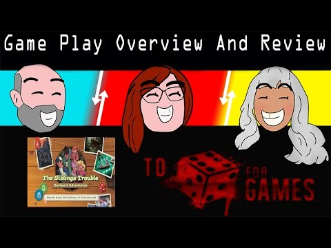Game Play Overview & Review: Siblings Trouble - To Die For Games