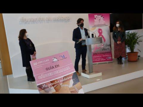 Presentación de la guía de apoyo a mujeres afectadas por cáncer de mama de la Asociación ASAMMA