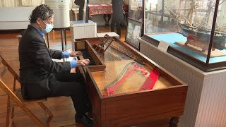 Restored 1814 piano has new home at Custom House Museum