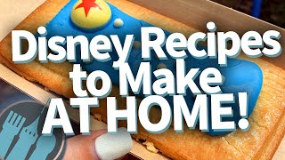 The 12 Easiest Disney Recipes To Make At HOME!