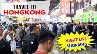 DU LỊCH HỒNG KONG ▶ Trải nghiệm Mua sắm về đêm, Lễ hội đường phố tại Chợ Quý Bà