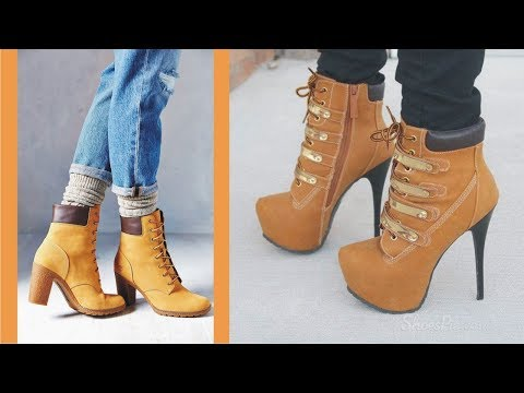 Innovative High Heels Timberlands For This Year