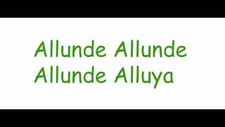 Allunde