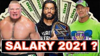 Top 10 Highest Paid WWE Superstars In 2021 - WWE Superstars Salary 2021 | Roman Brock Cena & More ||