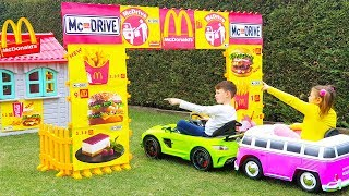 ALİNİN SİHİRLİ McDRİVE Magic McDonalds 🍔 DRIVE THRU 🚗