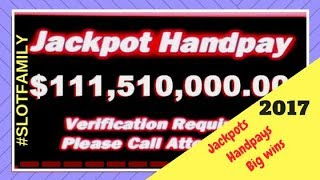 💥Jackpot Handpays & Big Wins💥2017 Wrap Up💥