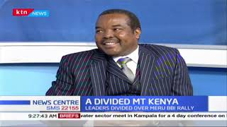 A divided Mt. Kenya: Leaders divided over the Meru BBI rally