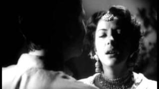 Aag  Raj Kapoor & Nargis Emotional Scenes  Tum Mujhe Pyar Karti Ho  Bollywood Classic Movie