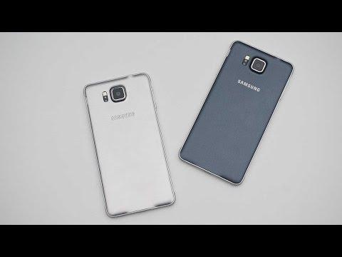 Vergleich: Samsung Galaxy Alpha silber vs. schwarz