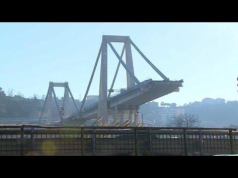 Αποκαλύφθηκαν τα σχέδια της νέας γέφυρας της Γένοβας