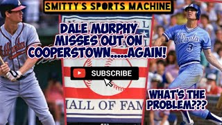 Dale Murphy Misses Out On The Hall Of Fame   Why Are Voters Turning Him Away?