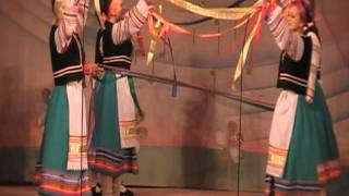 Пряха. Видео-танец Фольклорный танок с лентами