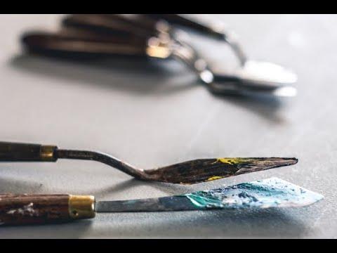 Tipps für Anfänger der Acrylmalerei (5): Malmesser