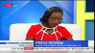 Family in Kisumu ignore the stench of Kachok Dumpsite for a word of God