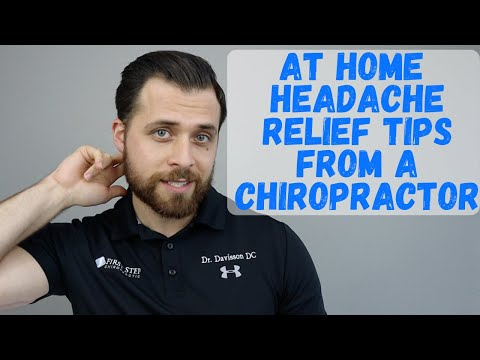 At Home Headache Relief Tips