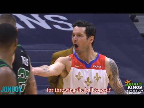 JJ Redick gets ejected for passing ball to the ref, a breakdown