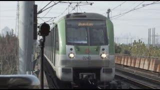 preview picture of video '[Shanghai Metro010]Line2 AC08 Train 上海地下鉄2号線AC08@ZhangJiang Hi-Tech Park 張江高科'