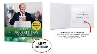 Funny Birthday Cards – Get A Personal Birthday Greeting From Donald Trump!