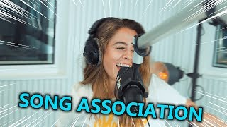 Vanessa Mai   Taylor Swift, Bruno Mars, Ariana Grande | Song Association ⚡ JAM FM