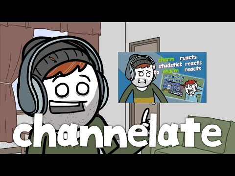 Explosm Presents: Channelate - Charmo Reacts